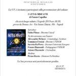 """13.04.2019 Domus Ars Napoli – Presentazione del libro di Fausto Capalbo """"FATTI & MISFATTI"""""""